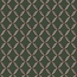 Dutch Fabric Touch behang Circle Geometric FT221228