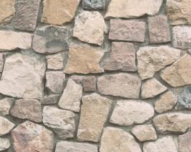 AS Creation Dekora Natur behang 6924-12 Steen