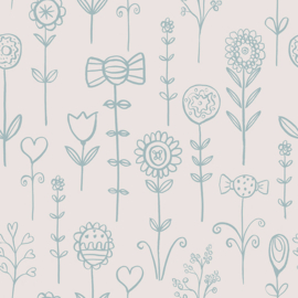 Behangexpresse Morris & Mila behang Candy Florals 27190