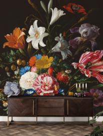 KEK Amsterdam Flora & Fauna behang Golden Age Flowers WP-232