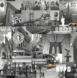 Dutch Freestyle behang New York 102514