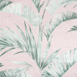 Arthouse Banana Palm Pink/Green behang 909402