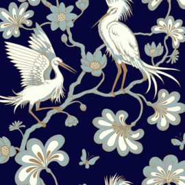York Wallcoverings Florence Broadhurst behang Egrets FB1452