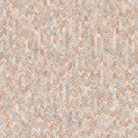 Dutch First Class Amazonia behang Saram Texture Orange 91290