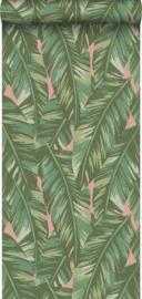 Esta Home Jungle Fever behang Bananenbladeren 139015