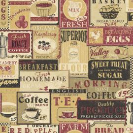 Noordwand Kitchen Recipes behang G12297