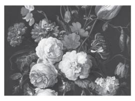 KEK Amsterdam Flora & Fauna behang Golden Age Flowers WP-587