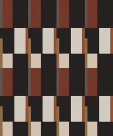 Khrôma Prisma behang Prisma Rust PRI602