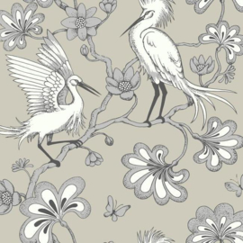 York Wallcoverings Florence Broadhurst behang Egrets FB1449