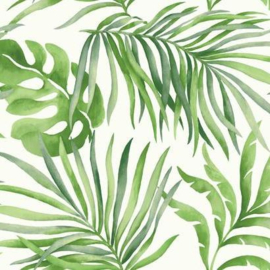 York Wallcoverings Candice Olson Tranquil behang Paradise Palm SO2450