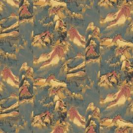 Khrôma Kimono behang Akiyama Topiara KIM302