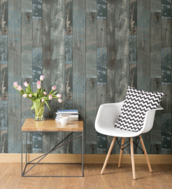 Dutch Restored Distressed Wood behang 24053