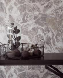 Eijffinger Resource Wallpower 369158 Marble Stone Nero