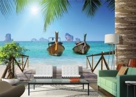 AG Design Fotobehang Paradijselijke Strand FTS1315