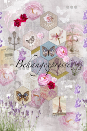 Behangexpresse COLORchoc Wallprint Sweet Linen INK 6058