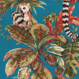 Hookedonwalls Lemuria behang Lemuri 60602