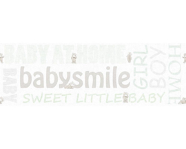 AS Creation Little Stars Babysmile behangrand 35848-1