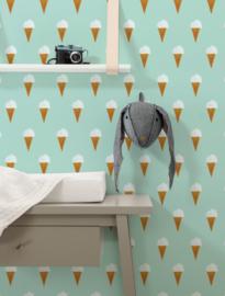 KEK Amsterdam Fiep Westendorp behang Ice Cream WP-131