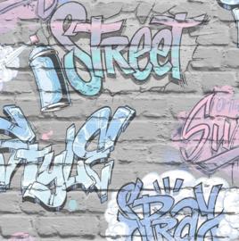 Dutch Freestyle behang Graffiti L179-06