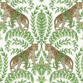 York Wallcoverings Ronald Redding 24 Karat behang Jungle Leopard KT 2203