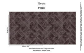 Élitis Pleats behang Majorelle PT 17204
