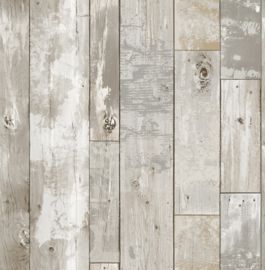 Dutch Restored Distressed Wood behang 24054