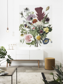 KEK Amsterdam Flora & Fauna behangpaneel Wild Flowers PA-016