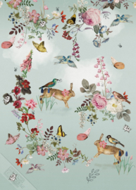 Behangexpresse Sofie & Junar Wallprint Vintage Fairytale INK7620