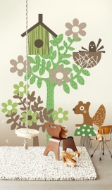Eijffinger Tout Petit Wallpower 354166 Forest Friends
