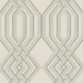 York Wallcoverings Handpainted Traditionals behang Etched Lattice TL1911