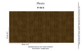 Élitis Pleats behang Arts & Craft TP 18010
