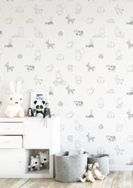 KEK Amsterdam Nijntje behang Animals WP-503