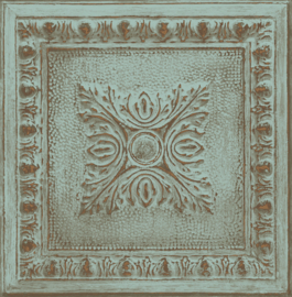 Dutch Restored Ornament Tile behang 24032