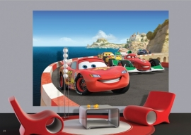 AG Design Fotobehang Disney Cars Race FTDS1924