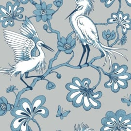 York Wallcoverings Florence Broadhurst behang Egrets FB1450
