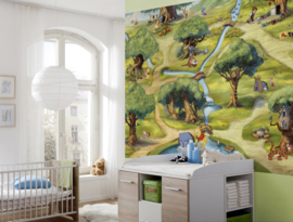 Disney Fotobehang Pooh Hundertmorgenwald 4-453
