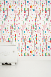 KEK Amsterdam Kids behang behang Lolipops WP-021