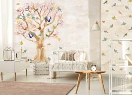 Behangexpresse Kate & Andy Wallprint Birds in Trees INK7432