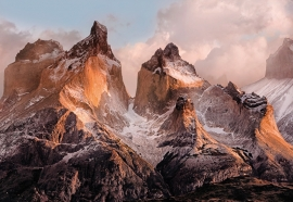Komar Torres del Paine Fotobehang National Geographic 4-530