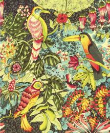 Eijffinger Wallpower Junior 364121 Birds In Paradise Green