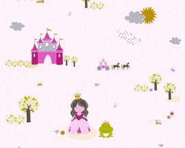 AS Creation Little Stars Prinses behang 35852-1