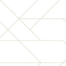 Esta Home Art Deco behang grafische Lijnen 139143