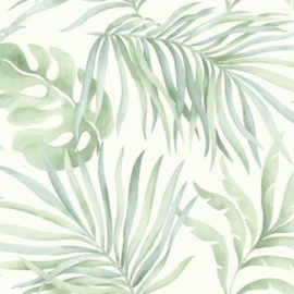 York Wallcoverings Candice Olson Tranquil behang Paradise Palm SO2452