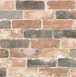 Dutch Reclaimed behang FD22320  Bricks