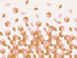 BN Cubiq Mural Faling Cube 200450 DX