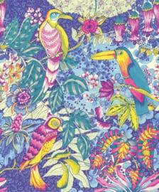 Eijffinger Wallpower Junior 364122 Birds In Paradise Blue