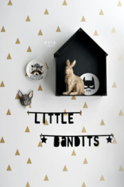 Esta Home Little Bandits Grafische Driehoeken behang 138943
