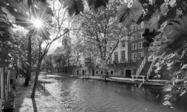 Noordwand Holland Fotobehang Utrecht Oude Gracht 1404