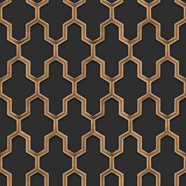 Dutch Wall Fabric behang Geometric WF121025