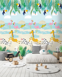 Behangexpresse Morris & Mila Wallprint Tropical paradise INK 7264